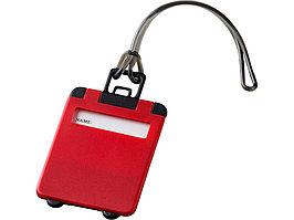 Бирка для багажа Taggy, красный (артикул 11989201)
