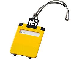 Бирка для багажа Taggy, желтый (артикул 11989202)