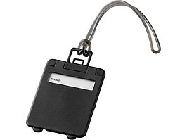 Бирка для багажа Taggy, черный (артикул 11989204)