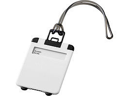 Бирка для багажа Taggy, белый (артикул 11989205)