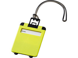 Бирка для багажа Taggy, лайм (артикул 11989206)
