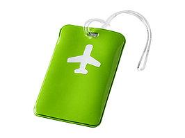 Бирка для багажа Voyage, зеленое яблоко (артикул 11989802)