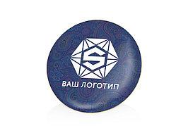 Значок металлический Круг, золотистый (артикул 130201)