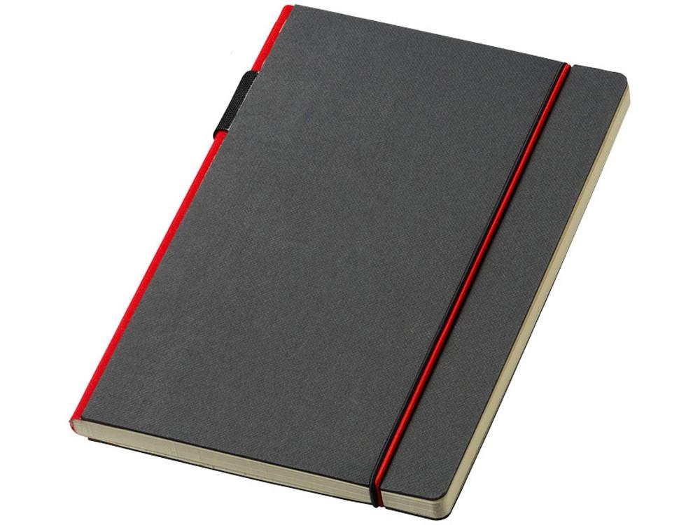 Блокнот А5 Cuppia, черный/красный (артикул 10669202)