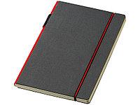 Блокнот А5 Cuppia, черный/красный (артикул 10669202), фото 1