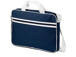 Сумка для ноутбука Knoxville, темно-синий/белый (артикул 11991000)
