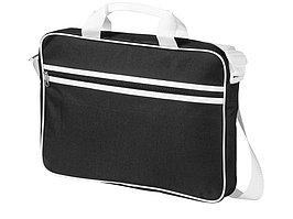 Сумка для ноутбука Knoxville, черный/белый (артикул 11991002)