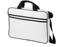 Сумка для ноутбука Knoxville, белый/черный (артикул 11991003)