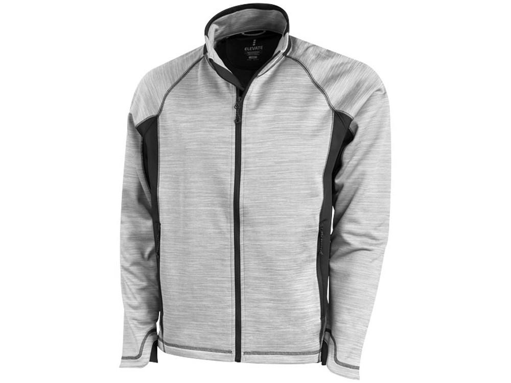 Куртка Richmond мужская на молнии, серый меланж (артикул 3948496S)