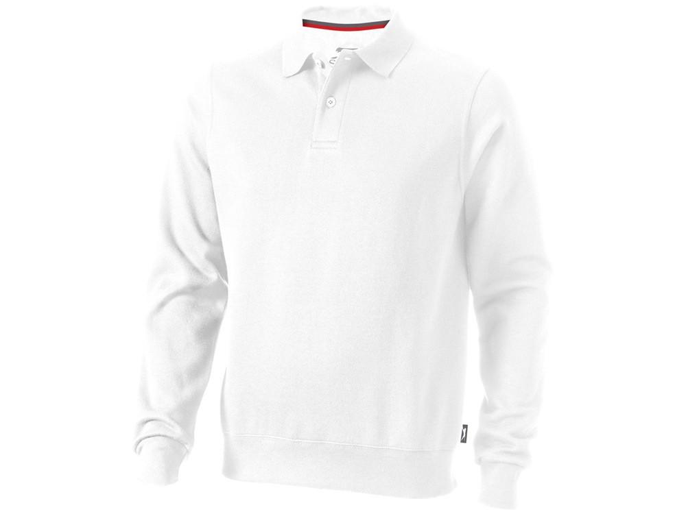 Свитер поло Referee мужской, белый (артикул 3323701XL)
