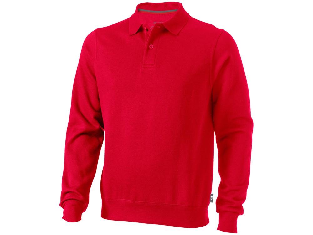 Свитер поло Referee мужской, красный (артикул 3323725S)