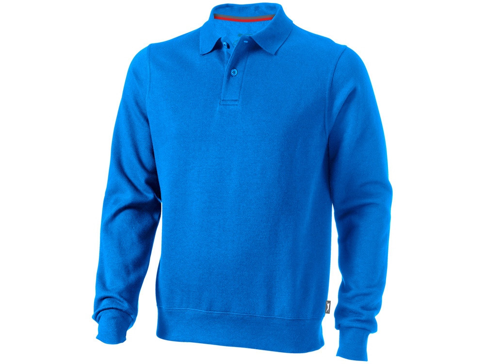 Свитер поло Referee мужской, небесно-голубой (артикул 3323742L)
