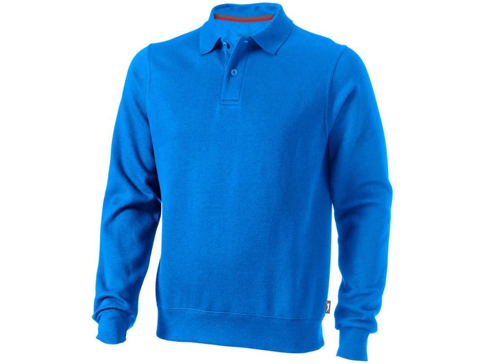 Свитер поло Referee мужской, небесно-голубой (артикул 3323742XL)