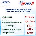 НАСОС DG PED 3 230В, фото 3