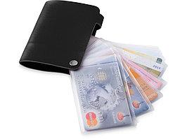 Бумажник Valencia, черный (артикул 10219800)