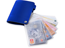 Бумажник Valencia, ярко-синий (артикул 10219801)