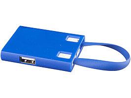 USB Hub и кабели 3-в-1, синий (артикул 13427501)