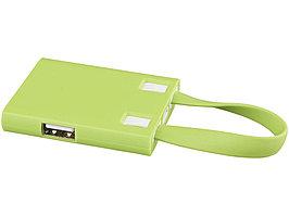 USB Hub и кабели 3-в-1, лайм (артикул 13427503)