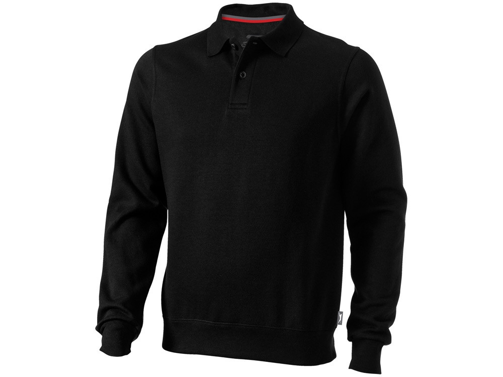 Свитер поло Referee мужской, черный (артикул 3323799L)