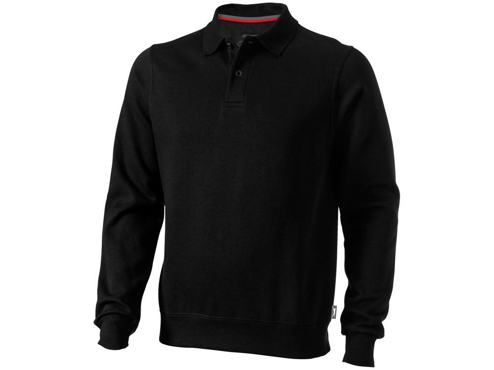 Свитер поло Referee мужской, черный (артикул 3323799XL)