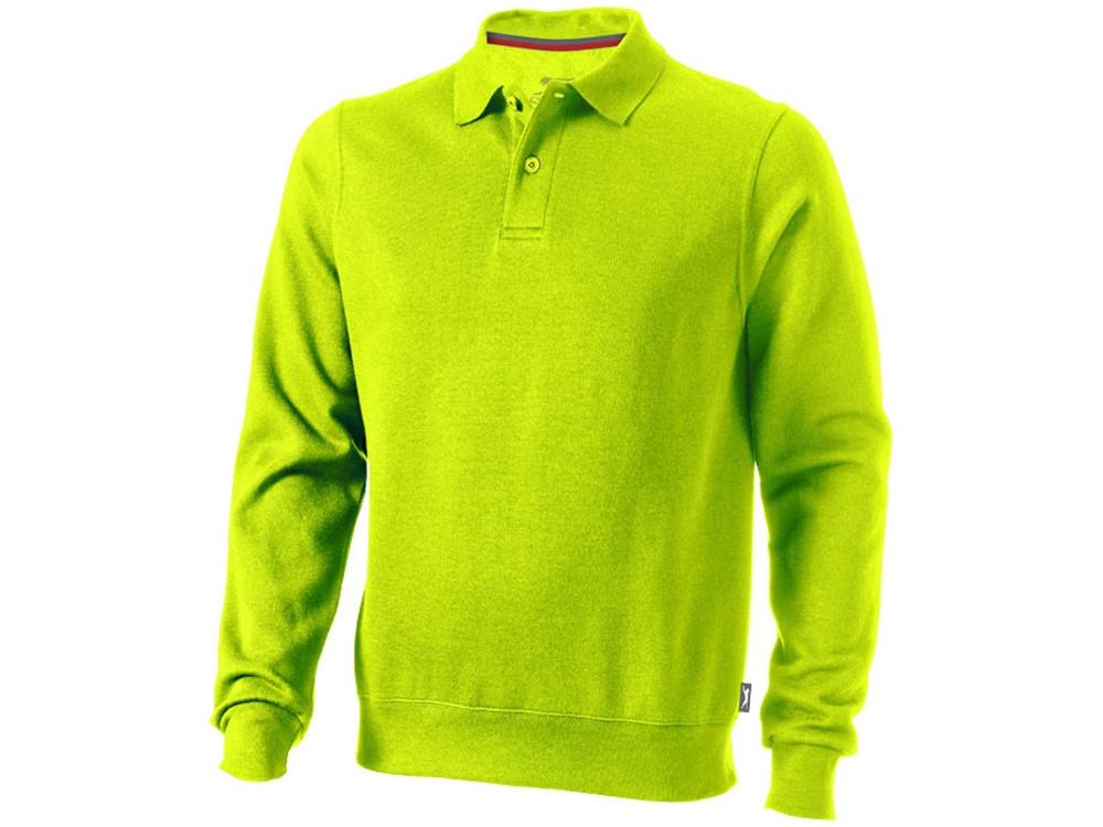 Свитер поло Referee мужской, зеленое яблоко (артикул 3323768S)
