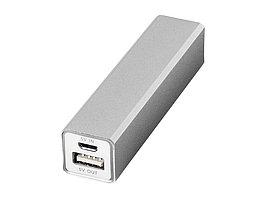 Портативное зарядное устройство Volt, серебристый (артикул 12349202)