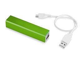 Портативное зарядное устройство Volt, лайм (артикул 12349204)