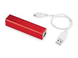 Портативное зарядное устройство Volt, красный (артикул 12349203)