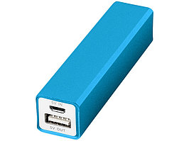 Портативное зарядное устройство Volt, светло-синий (артикул 12349205)