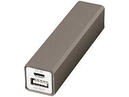 Портативное зарядное устройство Volt, титан (артикул 12349206)