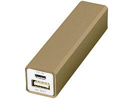 Портативное зарядное устройство Volt, золотистый (артикул 12349207)
