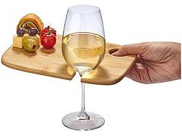Тарелка Miller для винных и обеденных закусок, дерево (артикул 11287100)