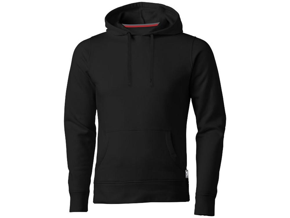 Толстовка Alley мужская с капюшоном, черный (артикул 3323899XL)