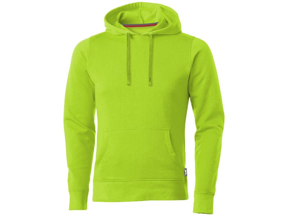 Толстовка Alley мужская с капюшоном, зеленое яблоко (артикул 3323868S)