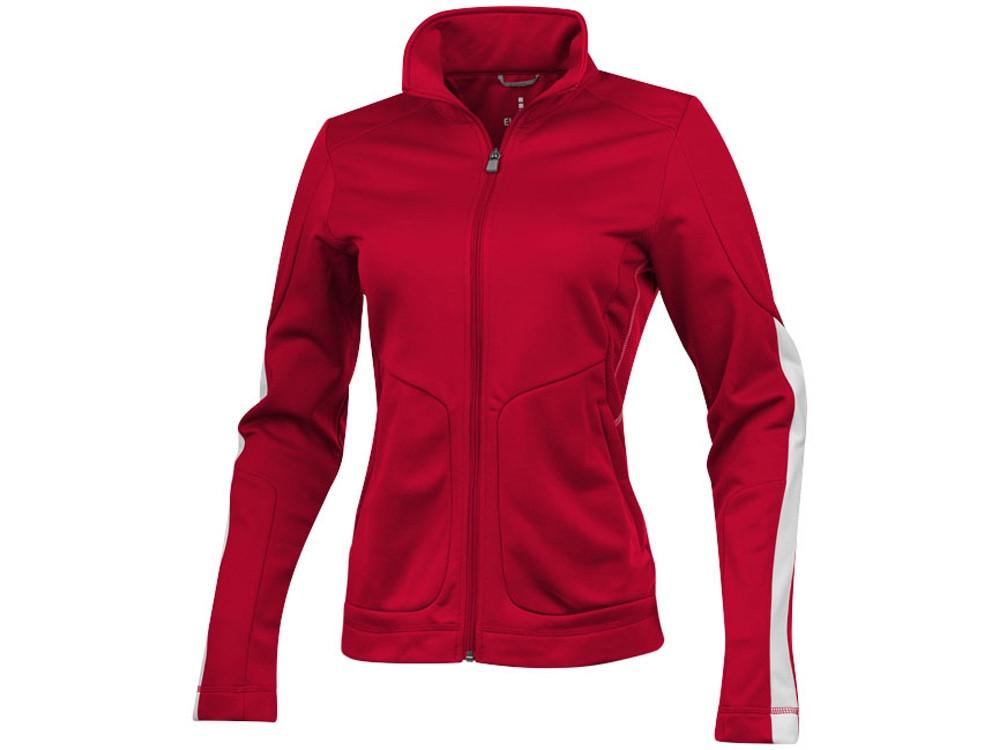 Куртка Maple женская на молнии, красный (артикул 3948725XS)