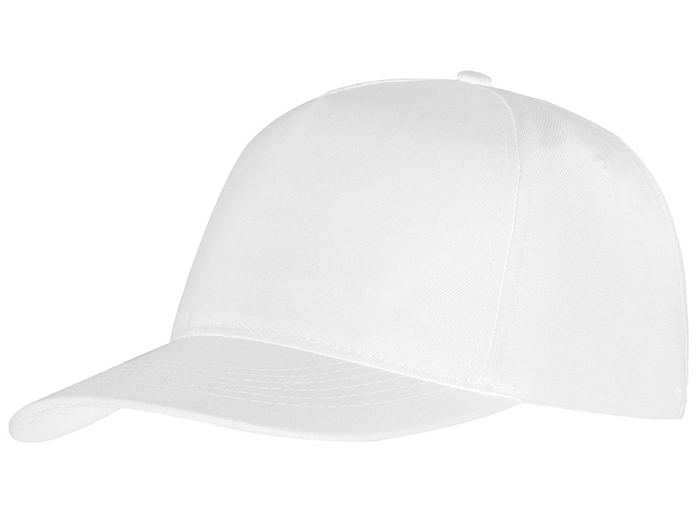 Бейсболка Mix 5-ти панельная, белый (артикул 13385316)