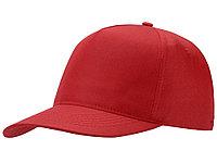 Бейсболка Mix 5-ти панельная, красный (артикул 13385311), фото 1