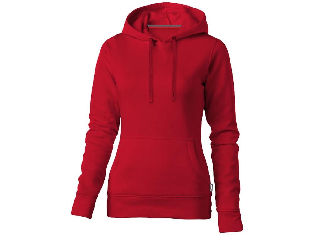 Толстовка Alley женская с капюшоном, красный (артикул 3323925S)