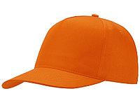 Бейсболка Mix 5-ти панельная, оранжевый (артикул 13385308), фото 1