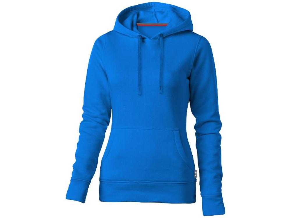 Толстовка Alley женская с капюшоном, небесно-голубой (артикул 3323942L)