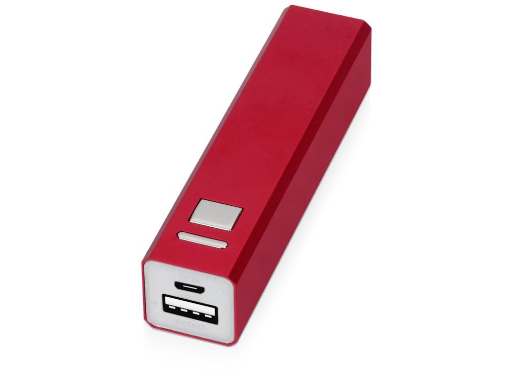 Портативное зарядное устройство Спейс, 3000 mAh, красный (артикул 392461)