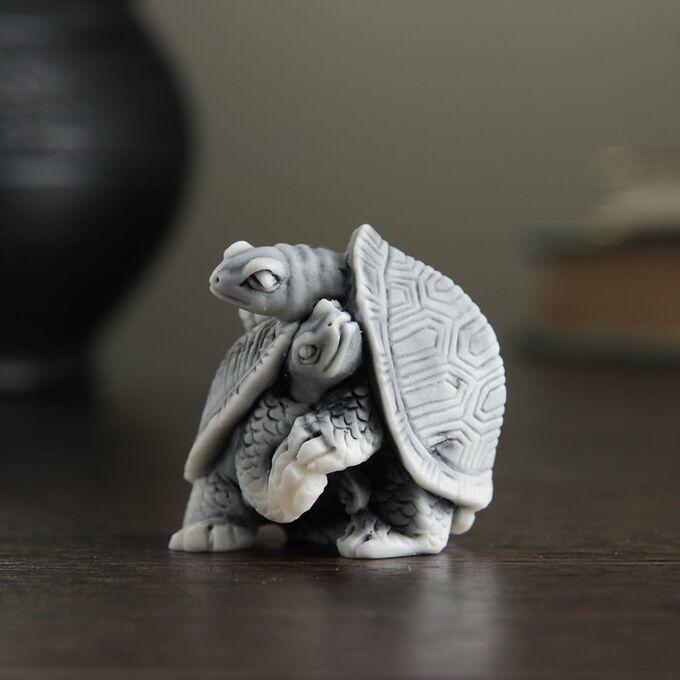 Сувенир Две черепахи, 3,5 см
