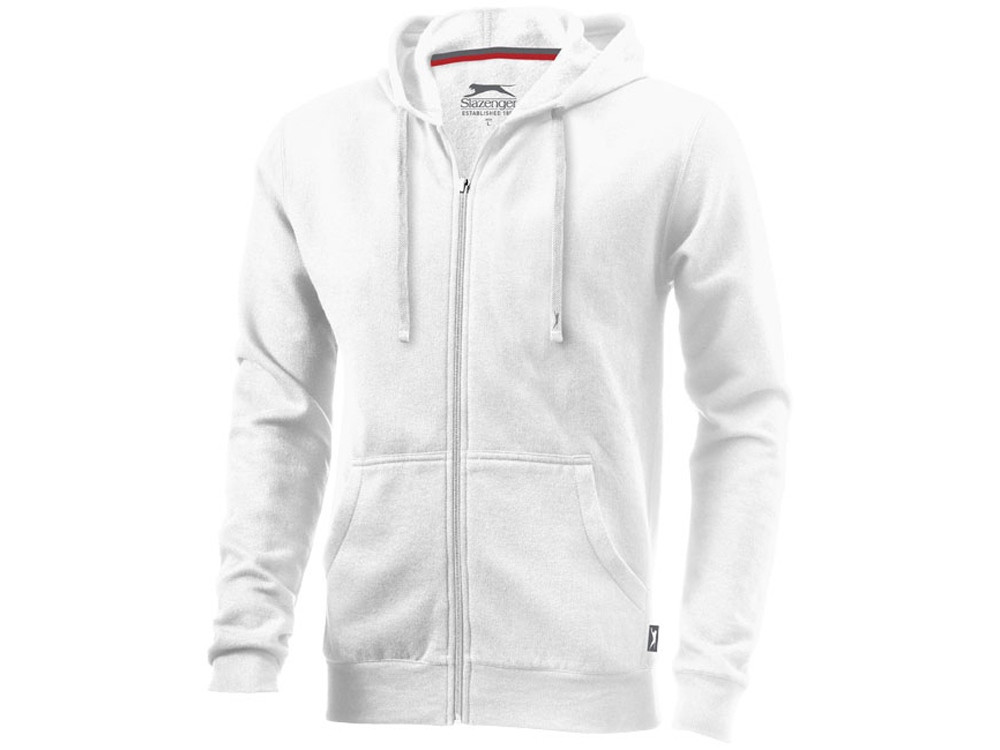 Толстовка Open мужская с капюшоном, белый (артикул 3324001M)