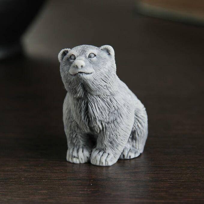 Сувенир Медвежонок Сидит, 4,5 см