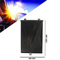 Солнцезащитные выдвижные автомобильные занавески на присосках KHF 13042 42 х 130 см (Taiwan) черные