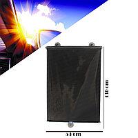 Солнцезащитные выдвижные автомобильные занавески на присосках 53 х 130 см (Taiwan) черные