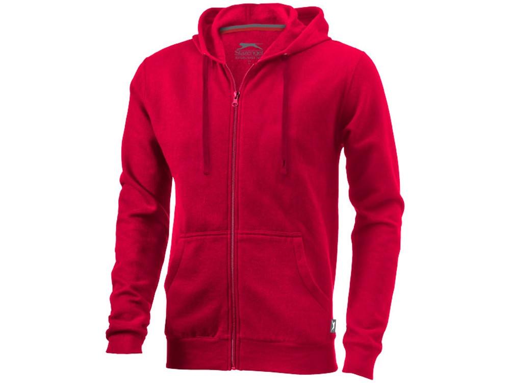 Толстовка Open мужская с капюшоном, красный (артикул 3324025M)