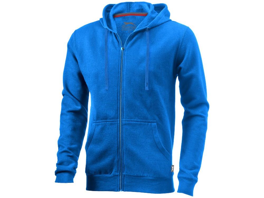 Толстовка Open мужская с капюшоном, небесно-голубой (артикул 33240423XL)