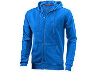 Толстовка Open мужская с капюшоном, небесно-голубой (артикул 3324042M), фото 1