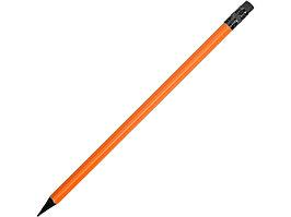 Карандаш чернографитовый трехгранный Blackie 3D, оранжевый (артикул 313908)